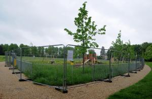 Basingstoke Gazette: New £72k Rooksdown play area still closed eight months after completion